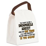 NEW TRUCK.png Canvas Lunch Bag