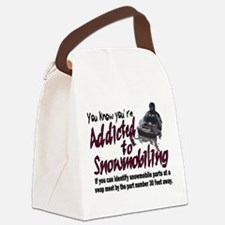 YKYATS - Snowmobile Part Numbers Canvas Lunch Bag