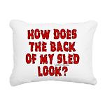backblack.png Rectangular Canvas Pillow