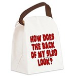 backblack.png Canvas Lunch Bag