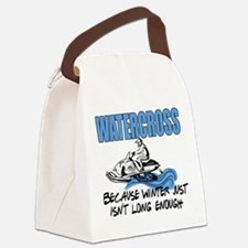 Watercross - Winter Canvas Lunch Bag