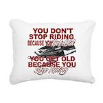 You Don't Get Old Rectangular Canvas Pillow