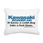 kawiinvader.png Rectangular Canvas Pillow