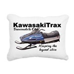 KawasakiTrax Rectangular Canvas Pillow