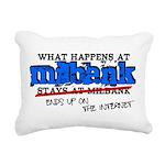 mbank.png Rectangular Canvas Pillow