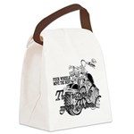Two wheels move the soul Canvas Lunch Bag