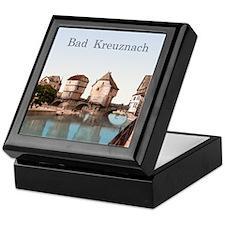 Bad Kreuznach Bridge Houses Keepsake Box