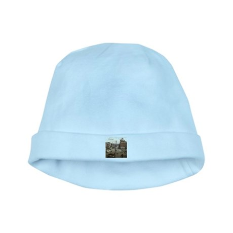 Vintage Dublin O'Connell Street baby hat