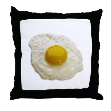 Egg on My Throw Pillow