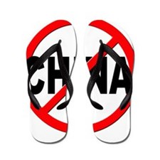 Anti / No China Flip Flops