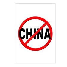 Anti / No China Postcards (Package of 8)