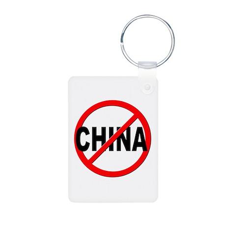Anti / No China Aluminum Photo Keychain