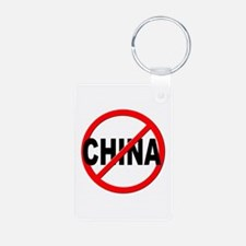 Anti / No China Keychains