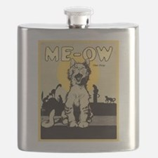 Me-ow Cat Song Flask