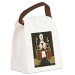 Vintage Queen of Hearts Canvas Lunch Bag