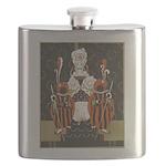 Vintage Queen of Hearts Flask