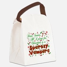 CHRISTMASVAMPIRE.png Canvas Lunch Bag