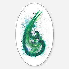 Cool Japnese Sticker (Oval)