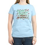 Dear Santa Furry Werewolf Women's Light T-Shirt