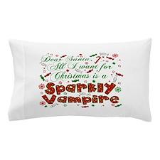Dear Santa Vampire Pillow Case
