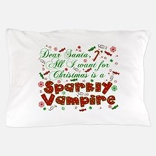 Dear Santa Vampire Pillow Case