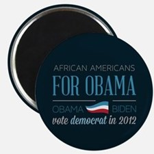 African Americans For Obama Magnet