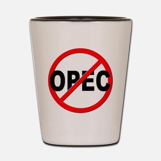Anti / No OPEC Shot Glass