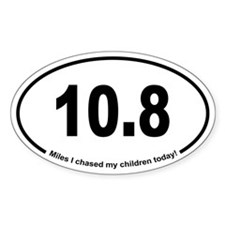 Running 13.1 Spoof Chase Children Decal