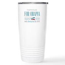 Farmhouse For Obama Travel Mug