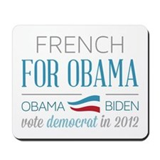 French For Obama Mousepad