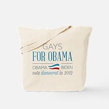 Gays For Obama Tote Bag
