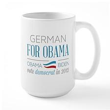 German For Obama Mug