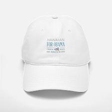 Hawaiian For Obama Baseball Baseball Cap