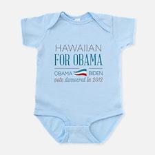 Hawaiian For Obama Infant Bodysuit
