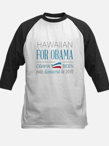 Hawaiian For Obama Tee