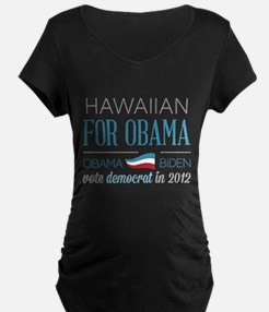 Hawaiian For Obama T-Shirt