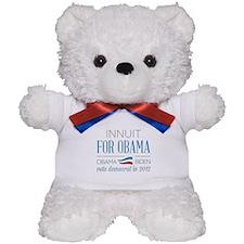 Innuit For Obama Teddy Bear