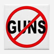 Anti / No Guns Tile Coaster