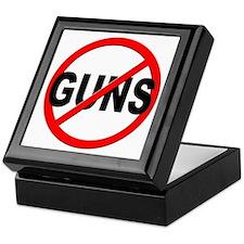 Anti / No Guns Keepsake Box