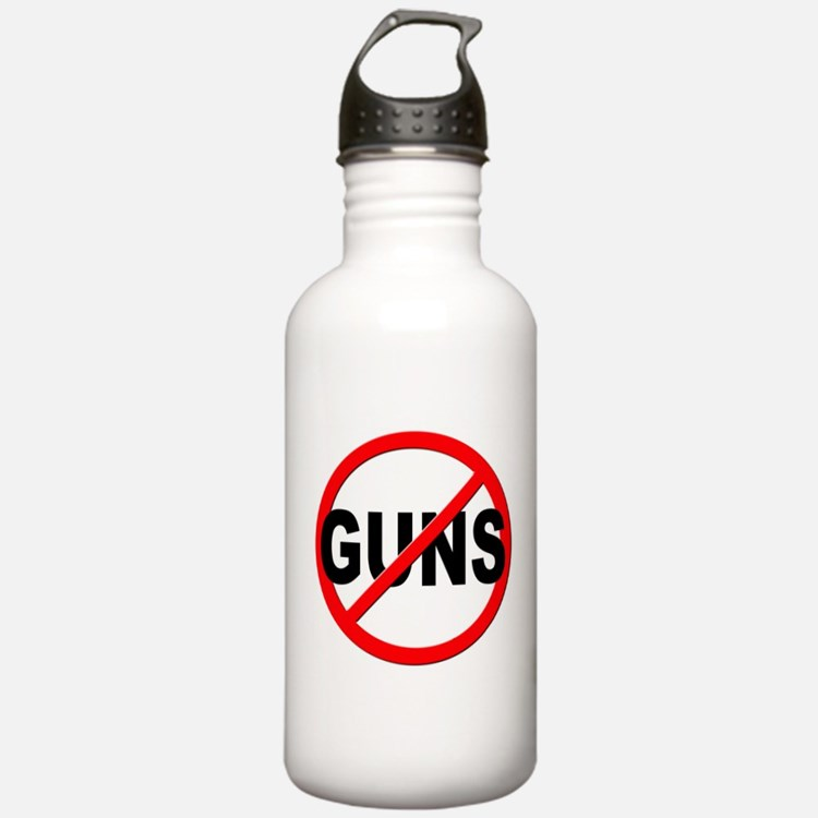 Anti / No Guns Water Bottle