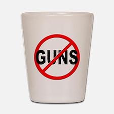 Anti / No Guns Shot Glass