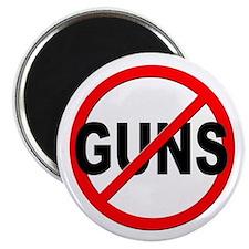 Anti / No Guns Magnet