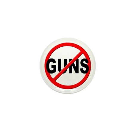 Anti / No Guns Mini Button (100 pack)