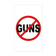 Anti / No Guns Decal