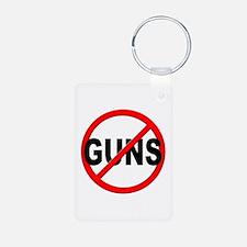 Anti / No Guns Keychains