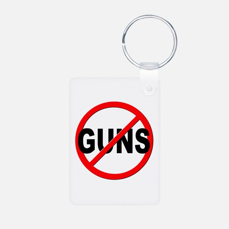 Anti / No Guns Keychains