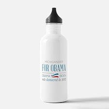 Michigander For Obama Water Bottle