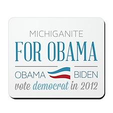 Michiganite For Obama Mousepad