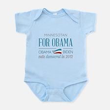 Minnesotan For Obama Infant Bodysuit