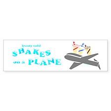 Shakes on a Plane Bumper Bumper Sticker